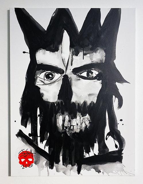 Spirit#13 on canvas - 60 x 80cm