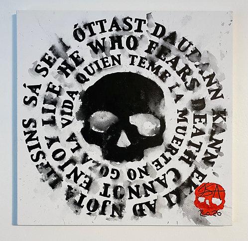 Dauðaþula - Dead Mantra IV (Original Painting)