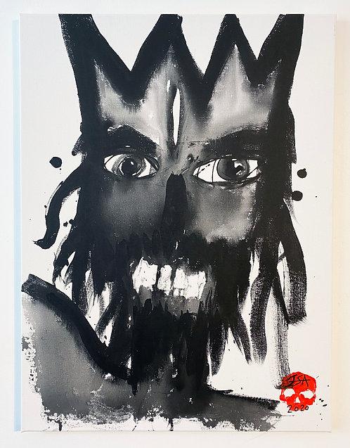 Spirit#7 on canvas - 60 x 80cm