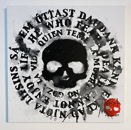 Dauðaþula - Dead Mantra V (Original Painting)