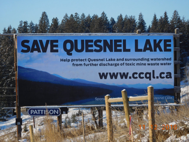 Quesnel Lake update misleading