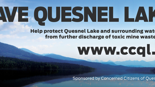 """GATHERING TO KEEP OUR WATERSHED CLEAN – FRIDAY NOON """"ANYWHERE"""" QUESNEL LAKE BC"""