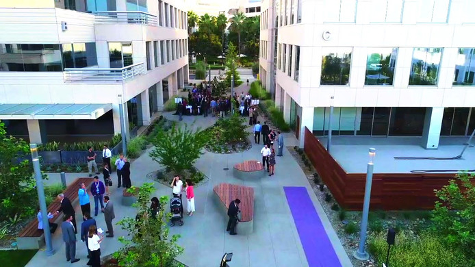 Corporate grand opening