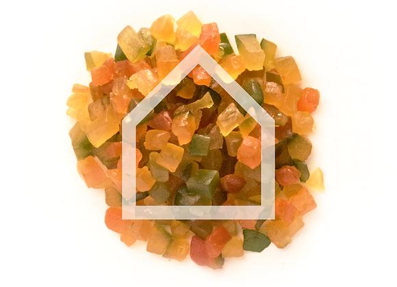 Frutas Cristalizadas (130g)