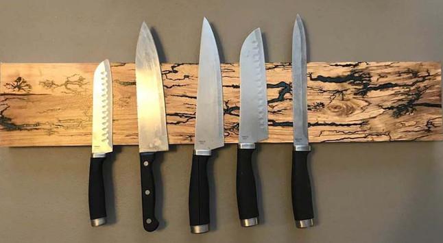 Cedar Elm Knife Rack