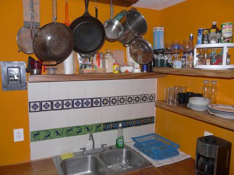 Custom Floating Shelf Kitchen