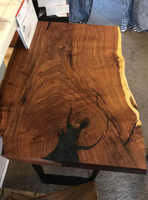 Mesquite Burl Entry Table@