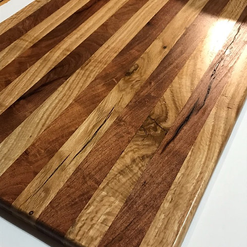 Mesquite and Red Oak Charcuterie Board