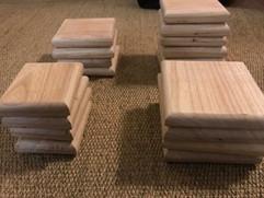 Post Oak Coasters - $15/25 set
