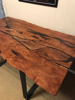 Mesquite Burl Dining Table - $2000