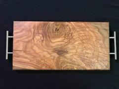 Red Oak Burl Charcuterie Board - $140