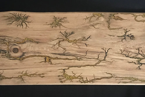Cedar Elm Charcuterie Board with Lichtenberg Figures