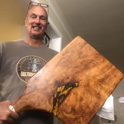 Mesquite Burl Charcuterie Board - $140