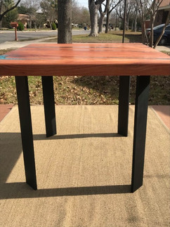 Mesquite Slab Small Dining Table - $1500