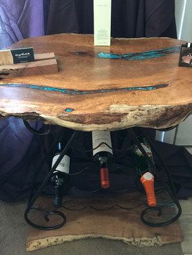 Mesquite Wine Rack