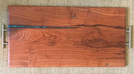 Large Mesquite Charcuterie Board - $100