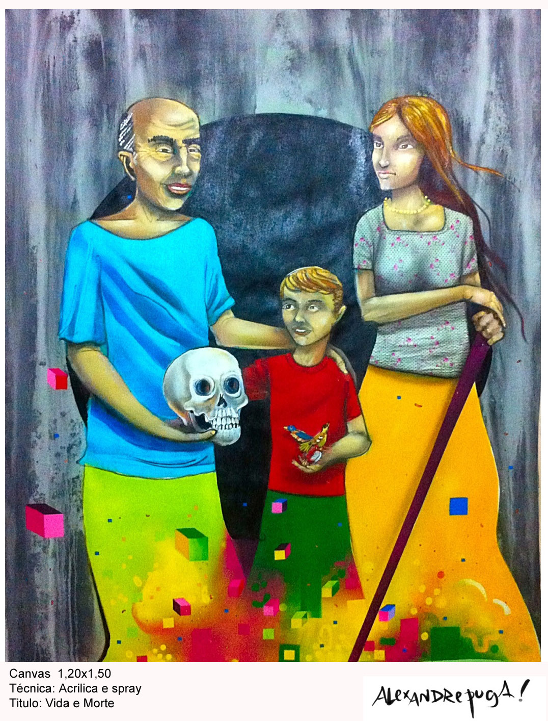 Pintura em Canvas