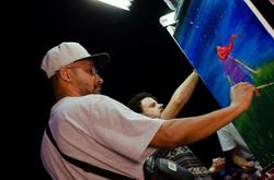 Live Paint ArtBattle brasil