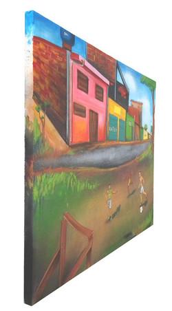 Pintura sobre canvas