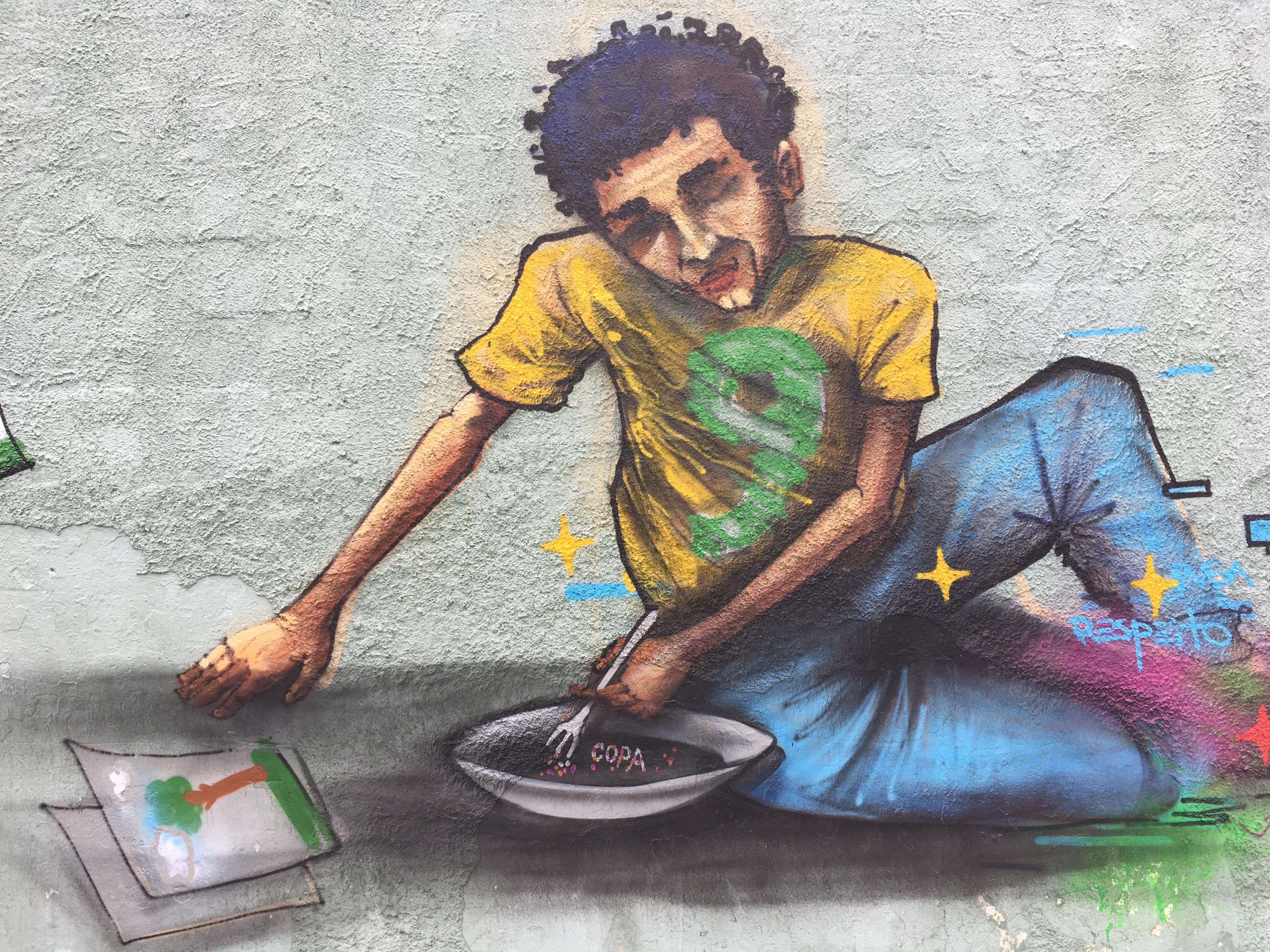 Graffiti em Escola Publica.