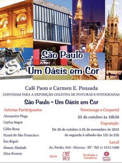 Exposição São Paulo Um Oasis em Cor.