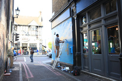 Mural em Londres