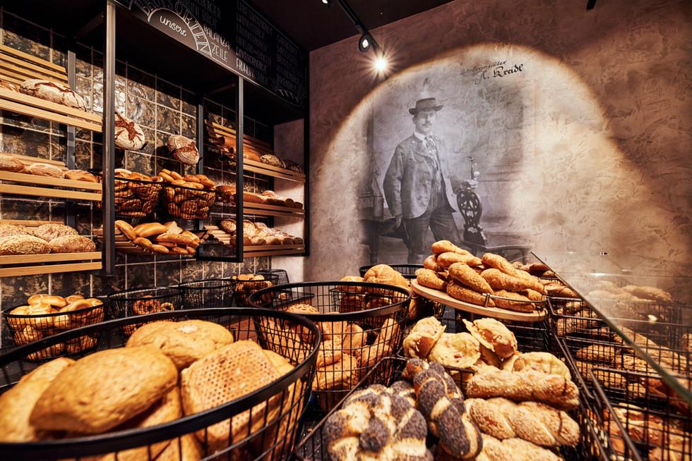 Bäcker Kreidl, Ruhpolding, Innenarchitektur und einrichtungfotografie