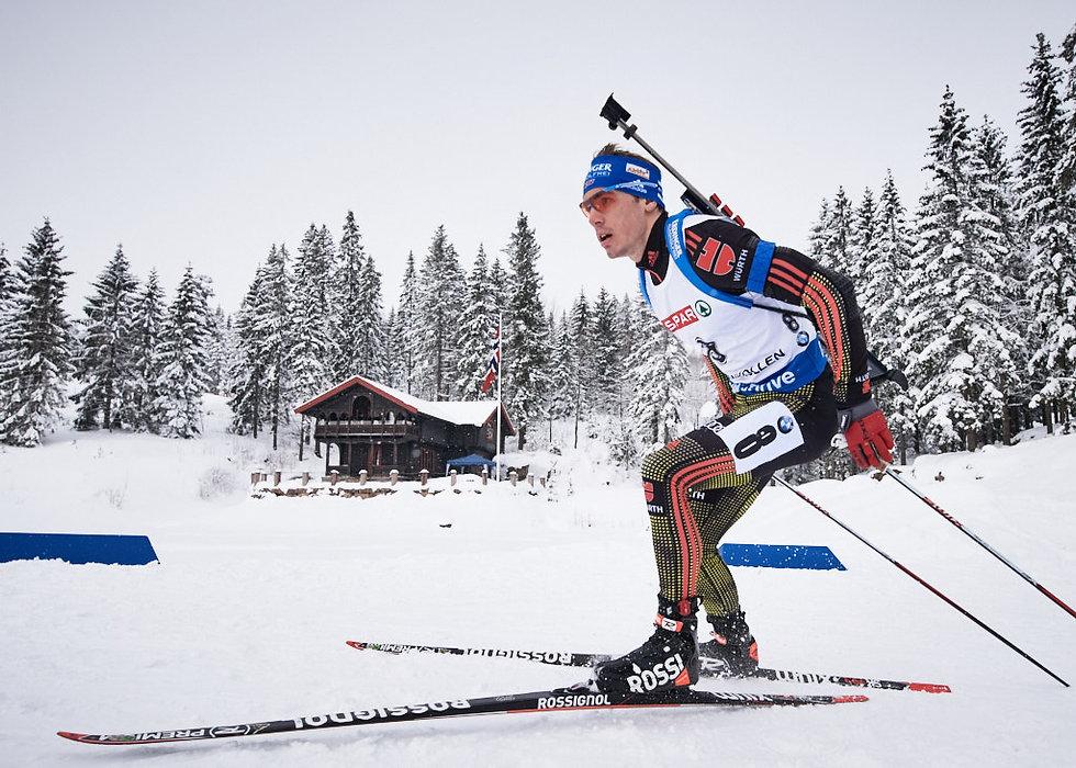 Simon Schempp Biathlon, at the Oslo World Championships
