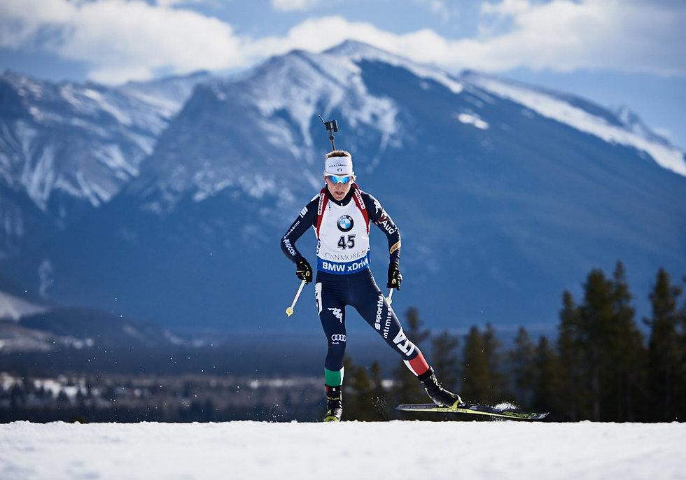 Canmore IBU Biathlon Sanfilippo
