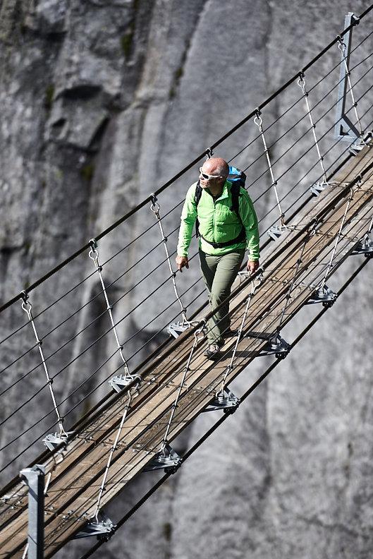 salbitbrücke wanderung Kletter Fotograf