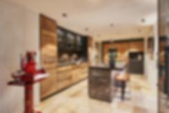 Innenarchitektur. Interior und Einrichtung von Kuche