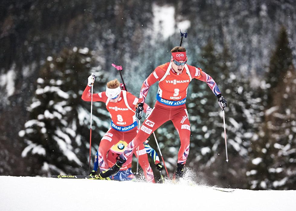 Boe Brothers Biathlon in Antholz