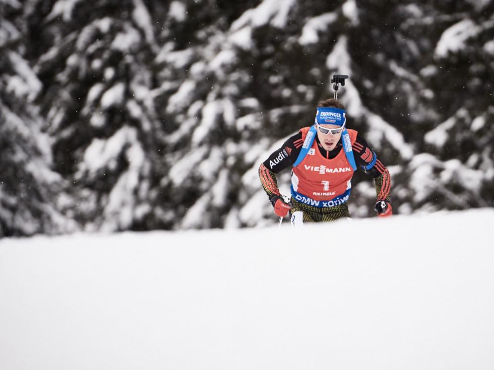 Simon Schempp Deutschland Antholz Biathlon