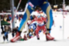Sportfotograf, Biathlon, Ruhpolding, Frauen sprint wettkampf.