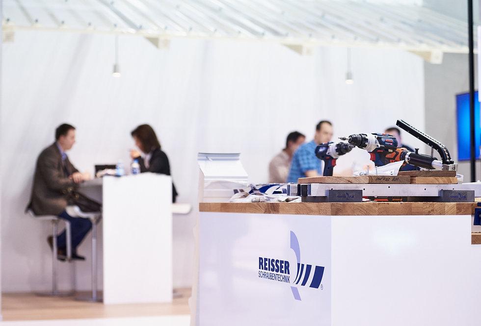 messefotografie und standaufnahmen bei die Messe in BAU München