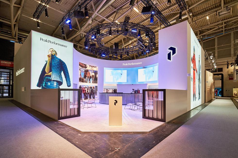 Messestand Fotografie München ISPO