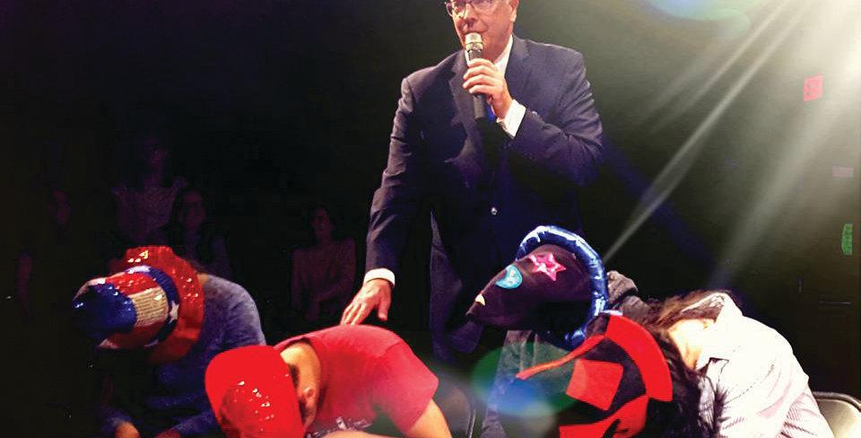 Master Stage Hypnotist Show on 9/22