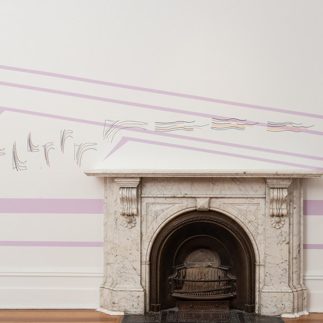 Cat Hope, Sub Decorative Sequences, [installation view], 2019