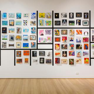 Linden Postcard Show 2017-18 [installation view], 2017