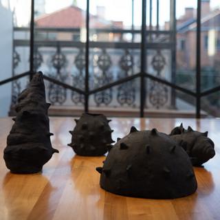 Lucreccia Quintanilla, A Ripple and an Echo [installation view], 2019