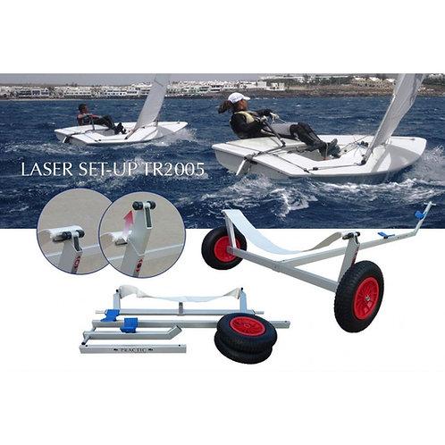 Carro de varada Laser Set-Up