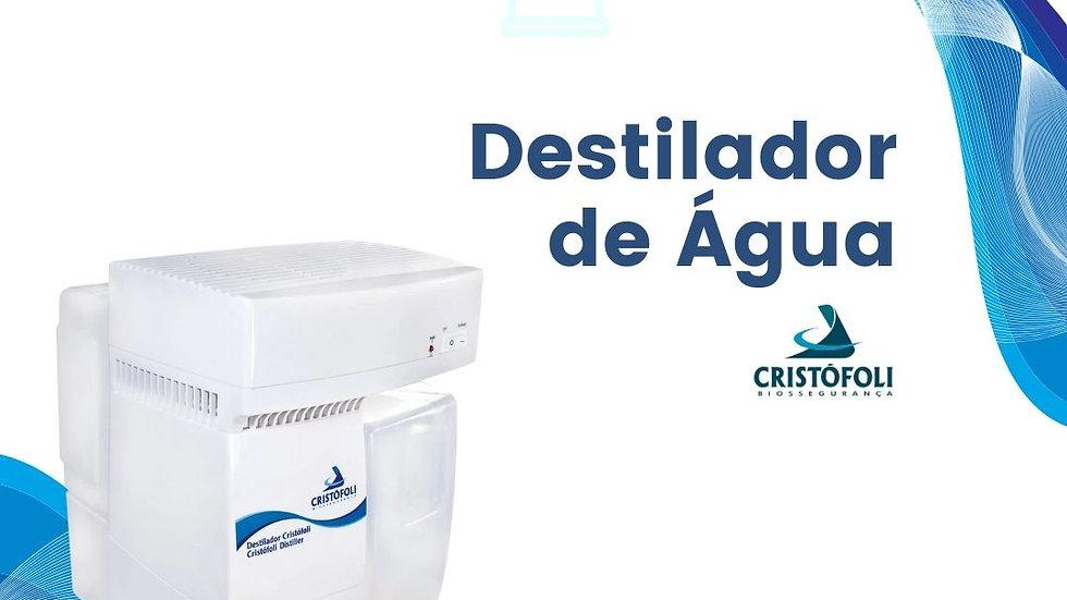 Destilador de Água Cristófoli
