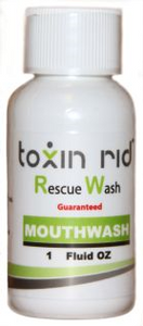 Toxinrid mouth wash by TestClear