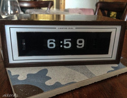 fabricated clock