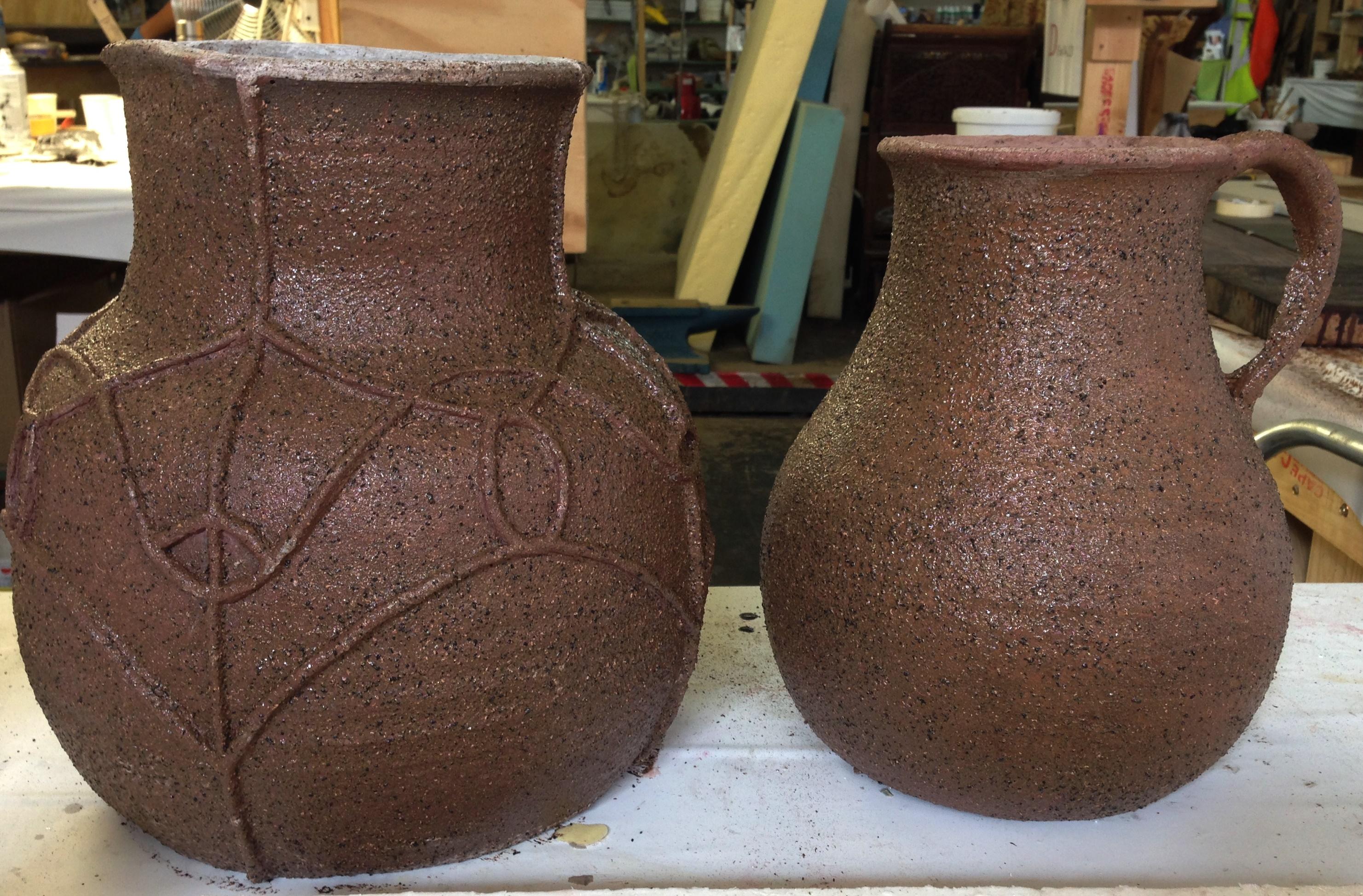 Fabricated pots