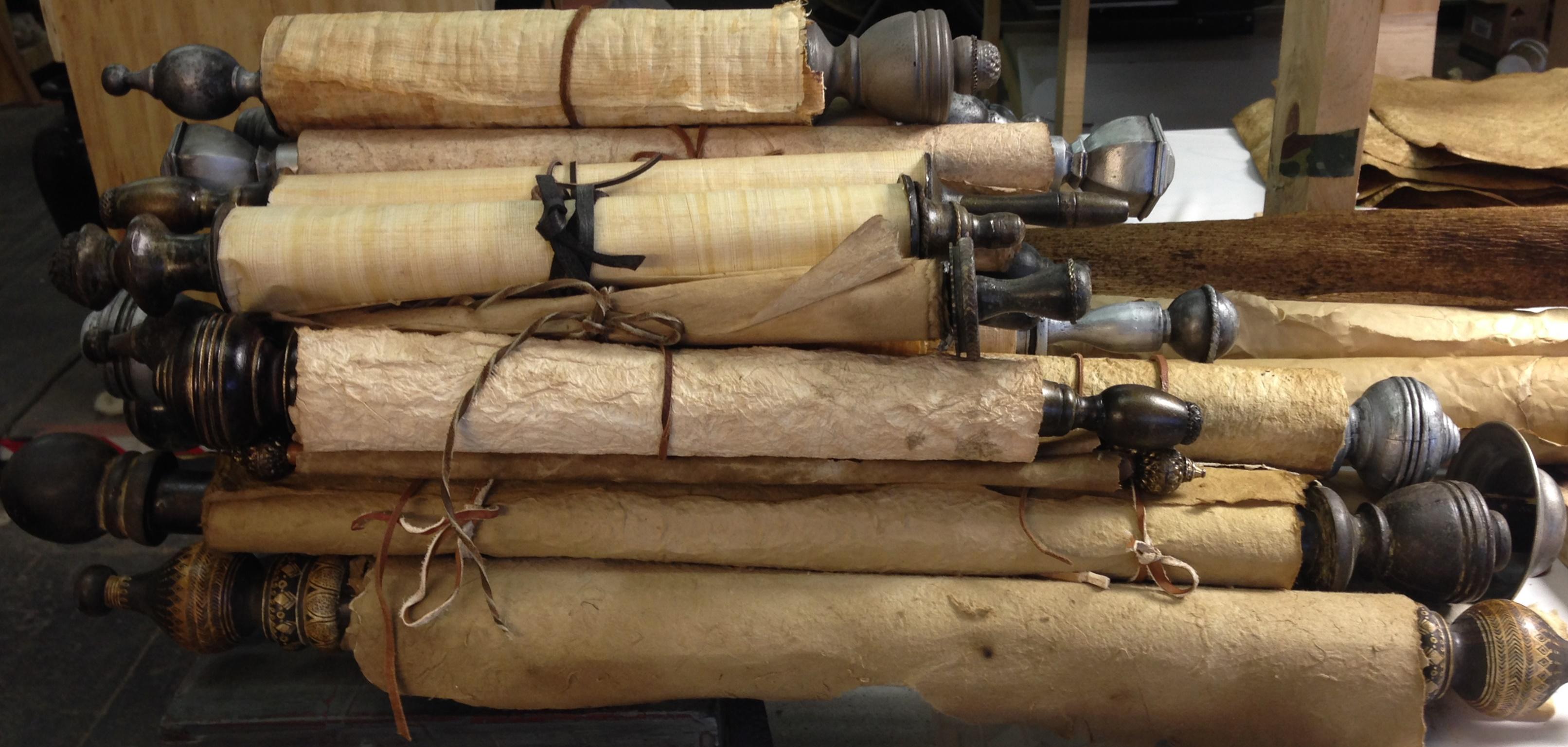 Fabricated scrolls