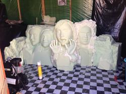 Foam sculture