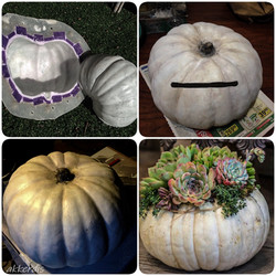 fabricated pumpkin