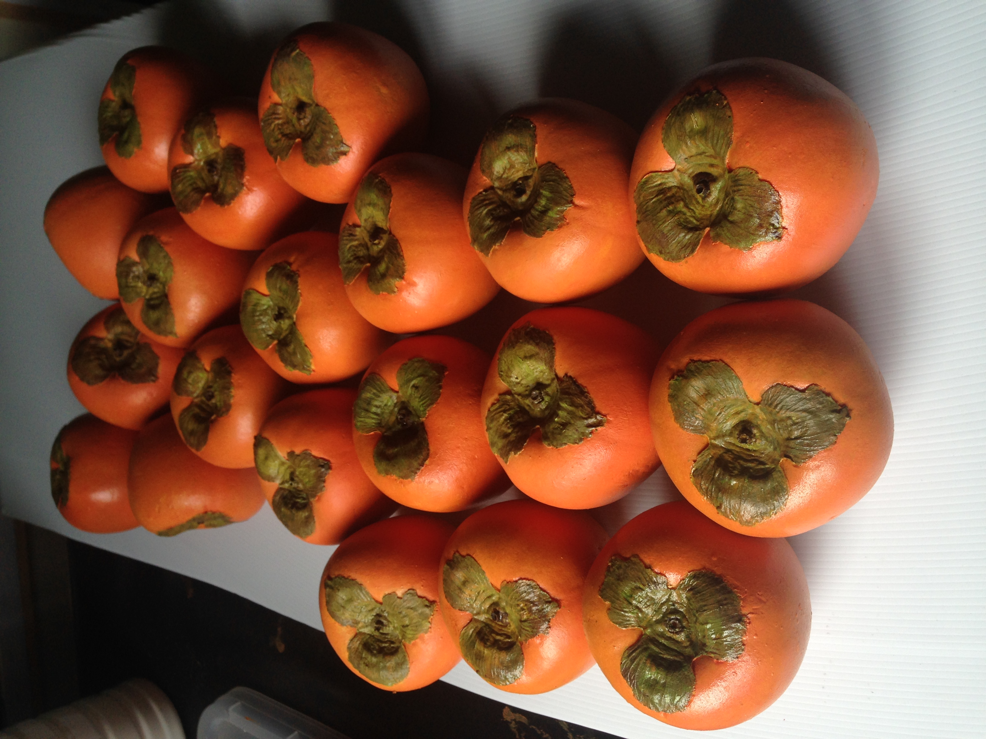 Fabricated persimmons