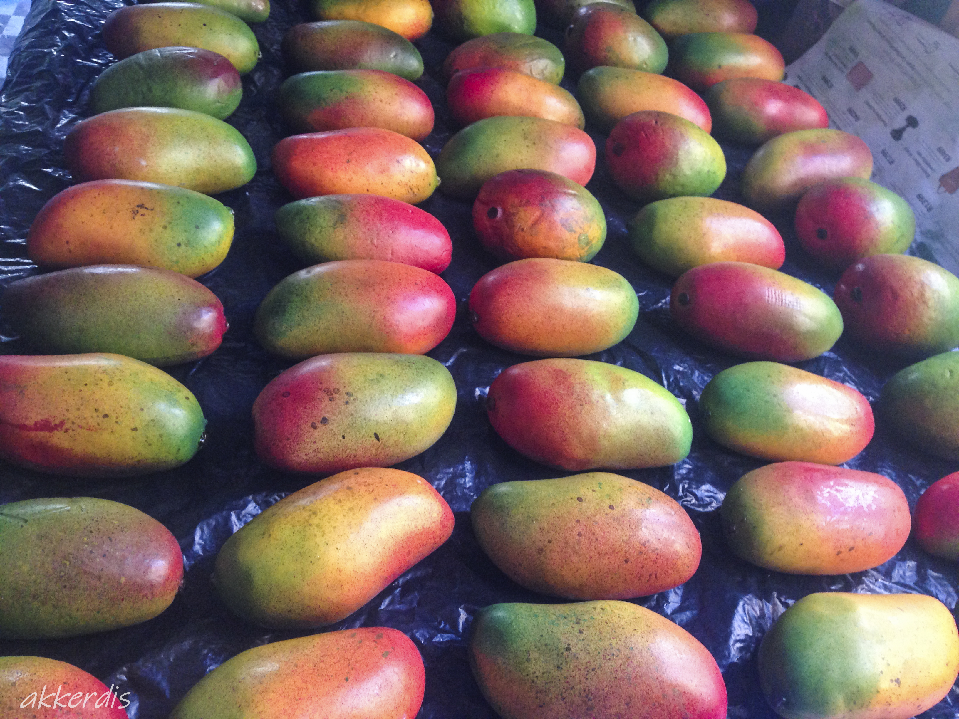 Fabricated mangos